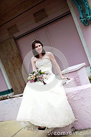 Urban Bride portrait