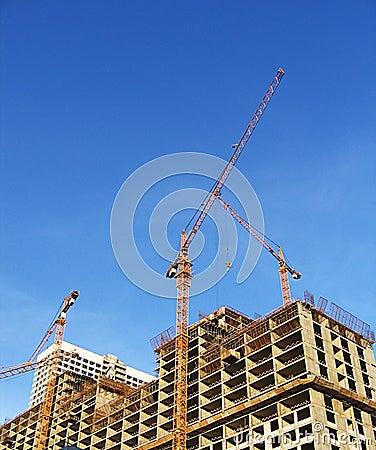 Free Urban Building Development Royalty Free Stock Image - 2977876