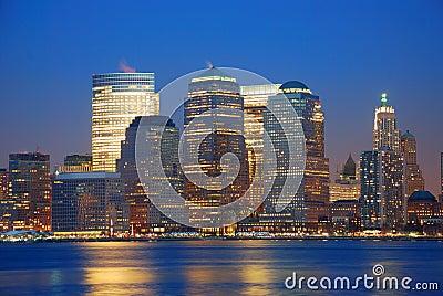 Urban City Skyline