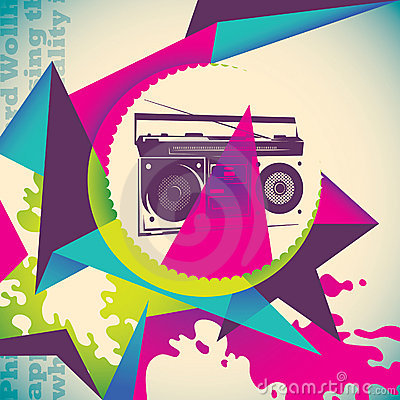 Urban colorful background.