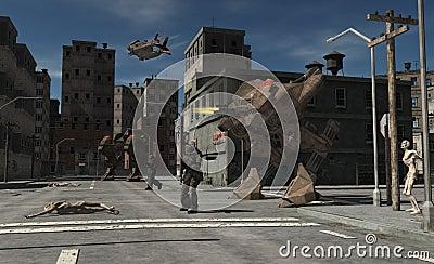 Urban Combat Patrol - Zombie Central