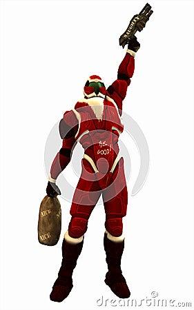 Urban Combat Santa