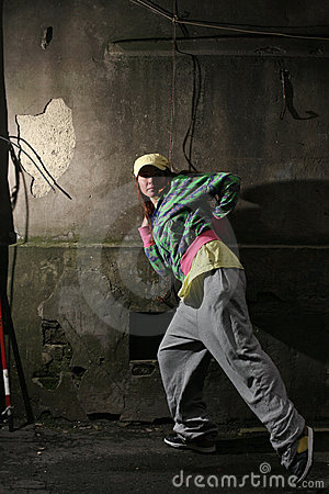 Urban dancer