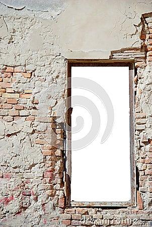 Free Urban Decay Window Frame 2 Stock Photos - 5836013
