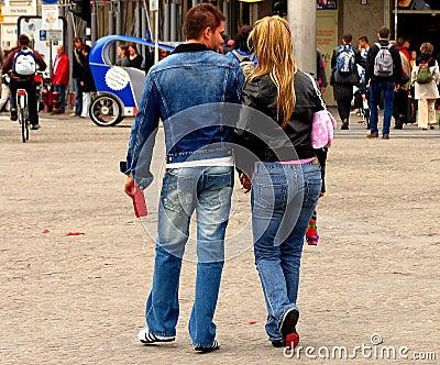 Urban Denim Couple