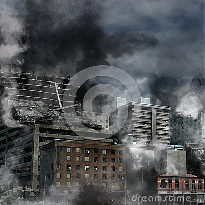 Free Urban Destruction Stock Photography - 33342272