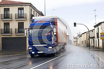 Urban freight truck