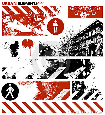 Urban graphic elements 1