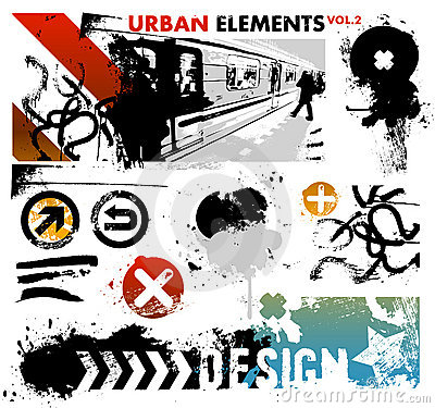 Urban graphic elements 2