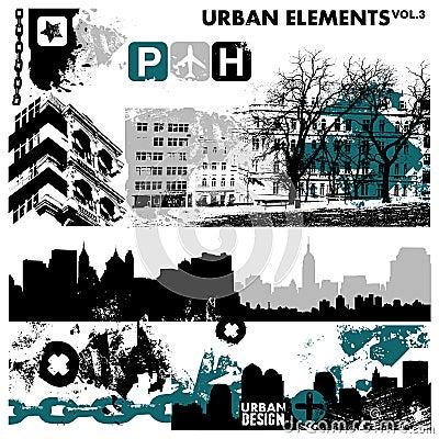 Urban graphic elements 3