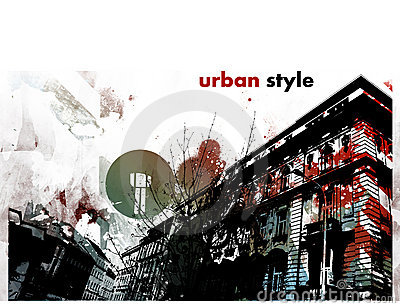 Urban graphic style
