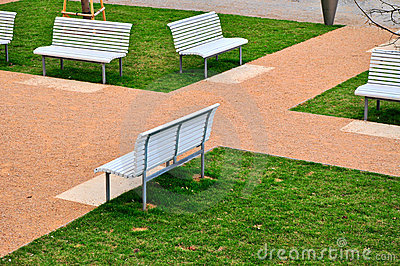urban green park