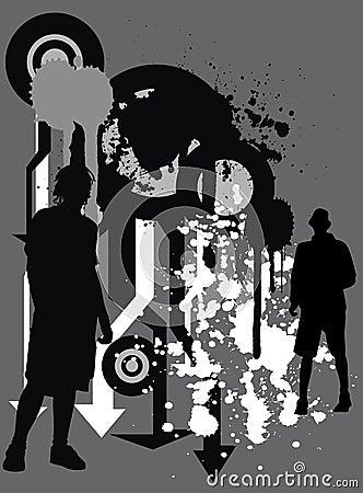 Urban grunge BG