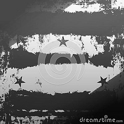 Urban Grunge With Stars