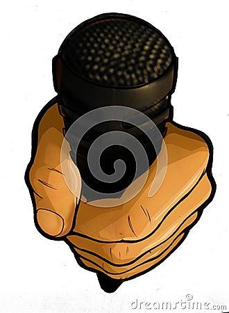 Urban Hip Hop Professional Microphone