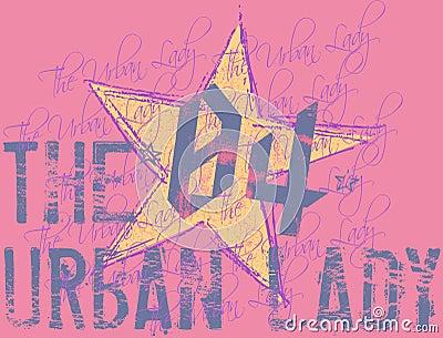 The urban lady