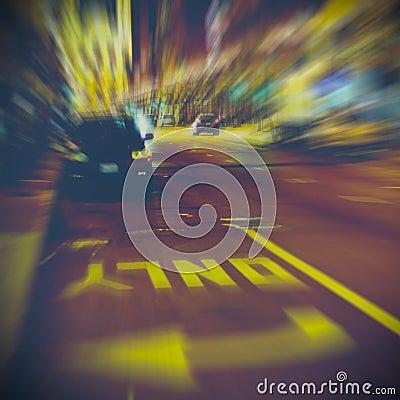 Free Urban Life At Night Stock Images - 48854584