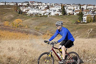 Urban Mountain Biker