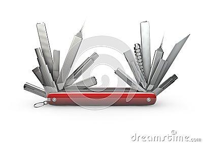Urban pocket knife