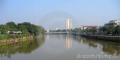 Urban scene. Chiang Mai, Thailand