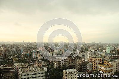 Urban scene of Dhaka