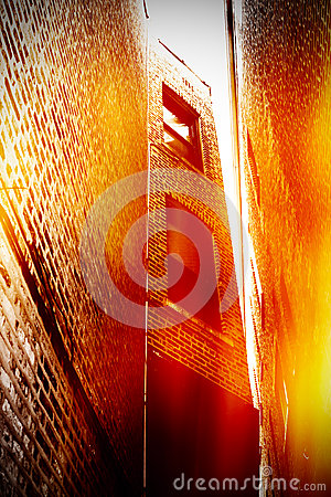 Free Urban Scene Of Building Royalty Free Stock Photography - 41742717