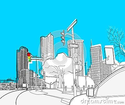 Urban scenery