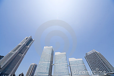 Urban Skyscraper Environment