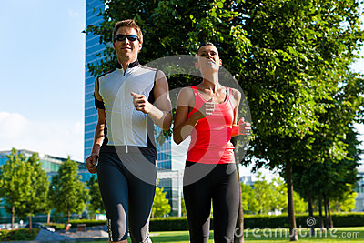 Urban Sports - Fitness In The City Royalty Free Stock Images - Image: 28735829