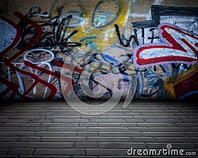 Urban Stage Graffiti Room
