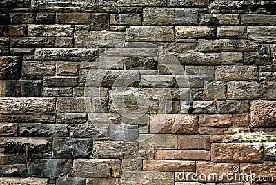 Urban textured Stone Wall