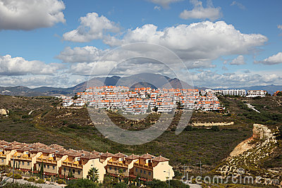 Urbanizations in Andalusia, Spain