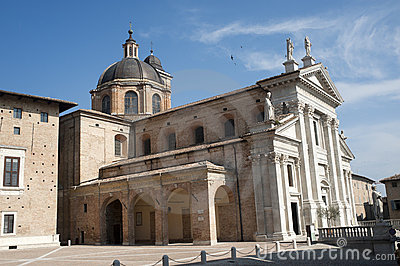 Urbino (Marches, Italy) - Historic church