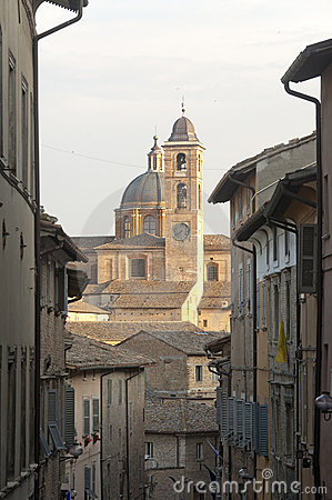 Urbino (Marches, Italy) - Old buildings