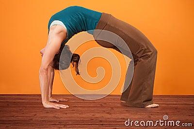 Urdhva Dhanurasana Yoga Pose