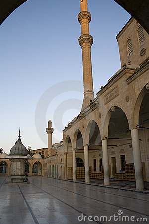 Free Urfa - Halil-ur-Rahman Mosque At Dusk, Turkey Stock Photo - 18033710