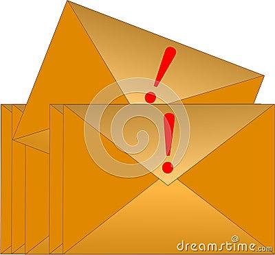 Urgent Email Envelope