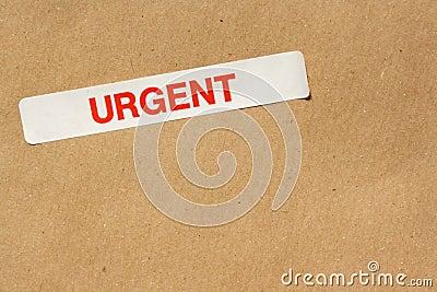 Urgent Sticker