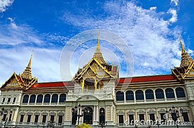 Uroczysty pałac Tajlandia