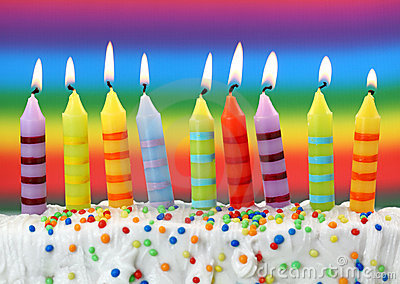 Image result for nine birthday candles