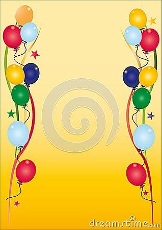 Urodzinowy zaproszenie