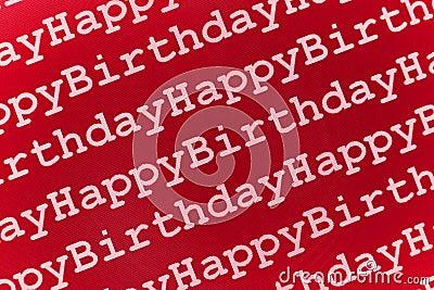 Urodziny szczęśliwy