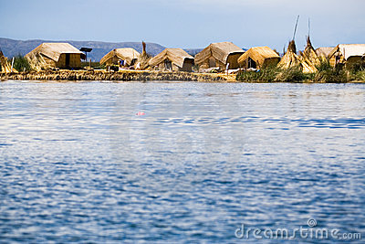 Uros Floating Islands, Peru