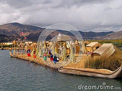 Uros-Island (Peru)