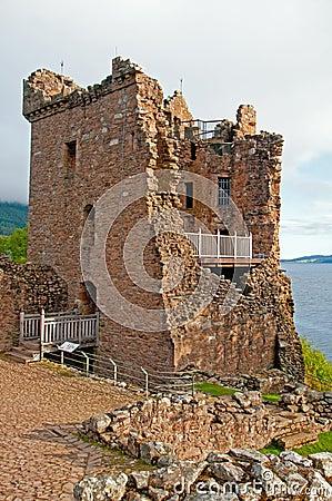 Urqhart城堡的格兰特・霍尔。