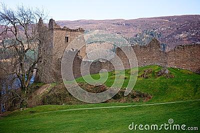 Urqhart Castle Ruins