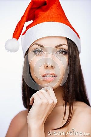Ursnygg santa flicka
