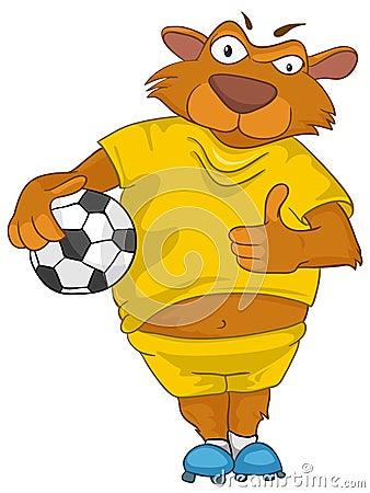 Urso do personagem de banda desenhada