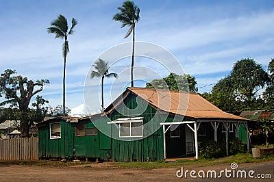 Ursprüngliche Insel-Häuser