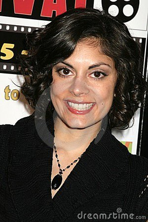 Ursula Taherian at the Pan African Film Festival Premiere of  Layla . Culver Plaza Theatre, Culver City, CA. 02-13-09 Editorial Stock Image